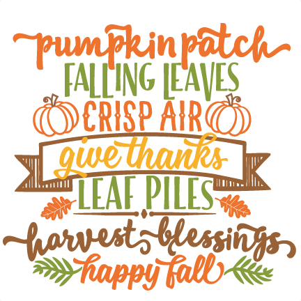 Image result for fall blessings clipart