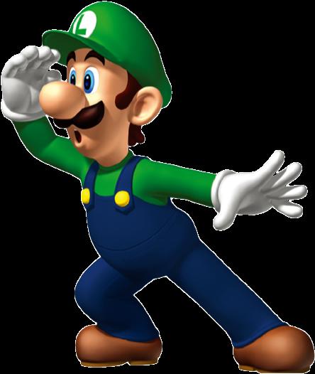 Luigi Clip Art - Cartoon Characters That Start With L (474x543)