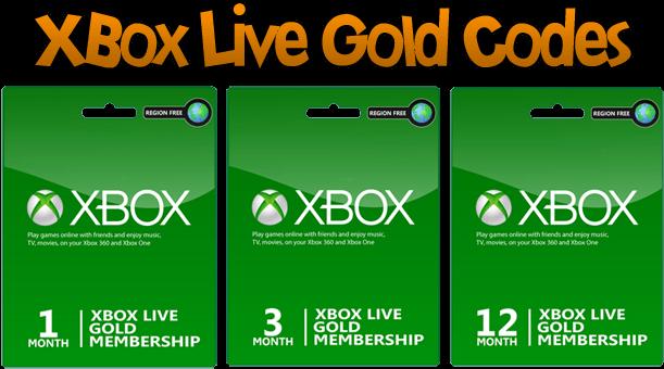 Free Xbox Live Gold Codes - Free Xbox Live Gold Codes