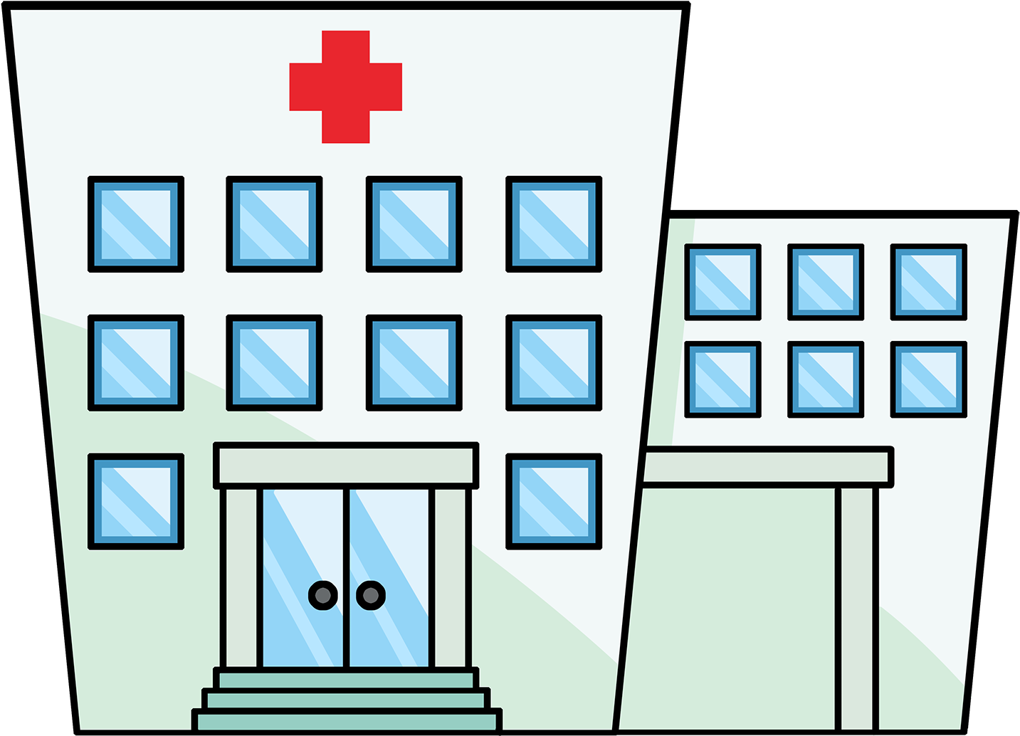 Cartoon Hospital Clipart Hospital Clipart Transparent Background 1600x1200 Png Clipart Download All hospital clip art are png format and transparent background. hospital clipart transparent background