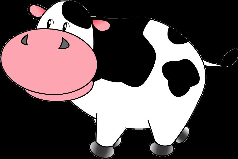 Картинки анимашки корова