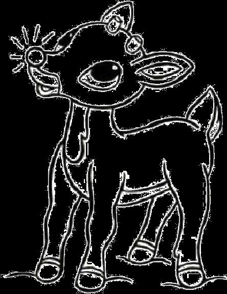 Reindeer And Santa Christmas S For Kidsbf96 Coloring Pages Printable   575x444