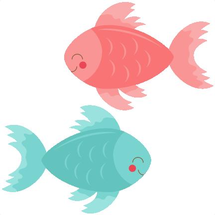 Seafood Clipart Cute - Cute Fish Clipart (1024x1024)
