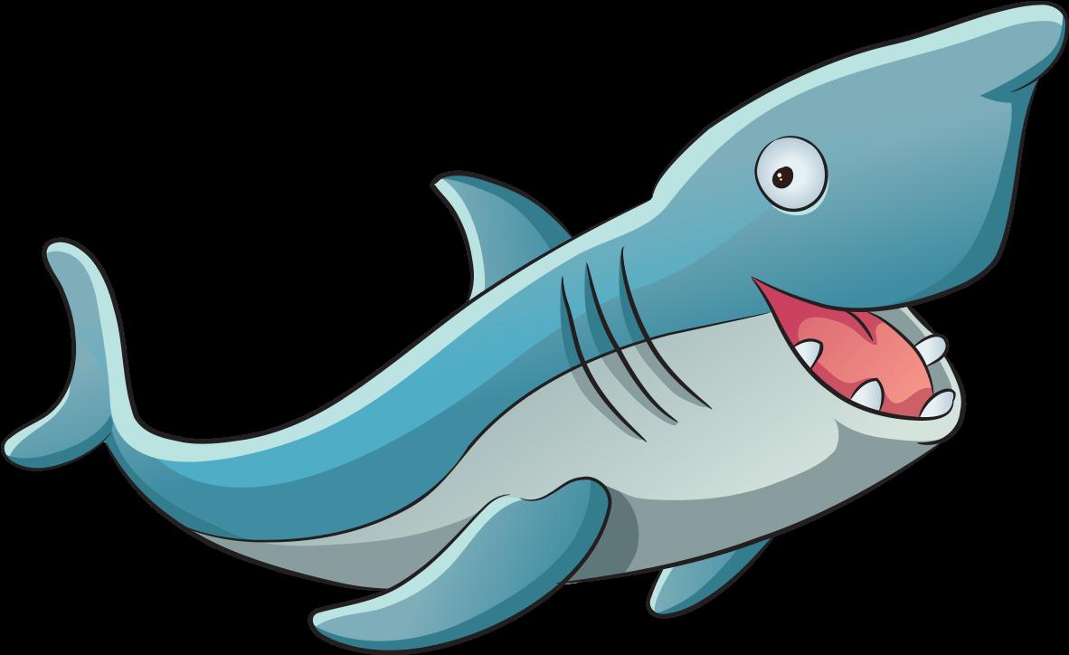 Акула для детей картинки