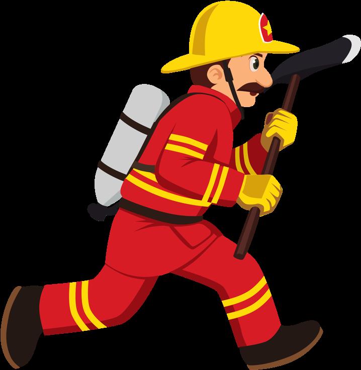 Спасатель пожарный мультяшные картинки