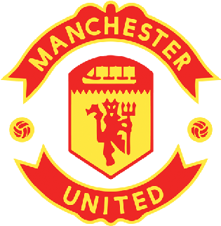 Manchester United Logo Yellow Manchester United 450x450 Png Clipart Download