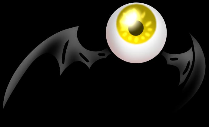 Eyeball By Vagevurig - Gravity Falls Eye Bats (690x421)