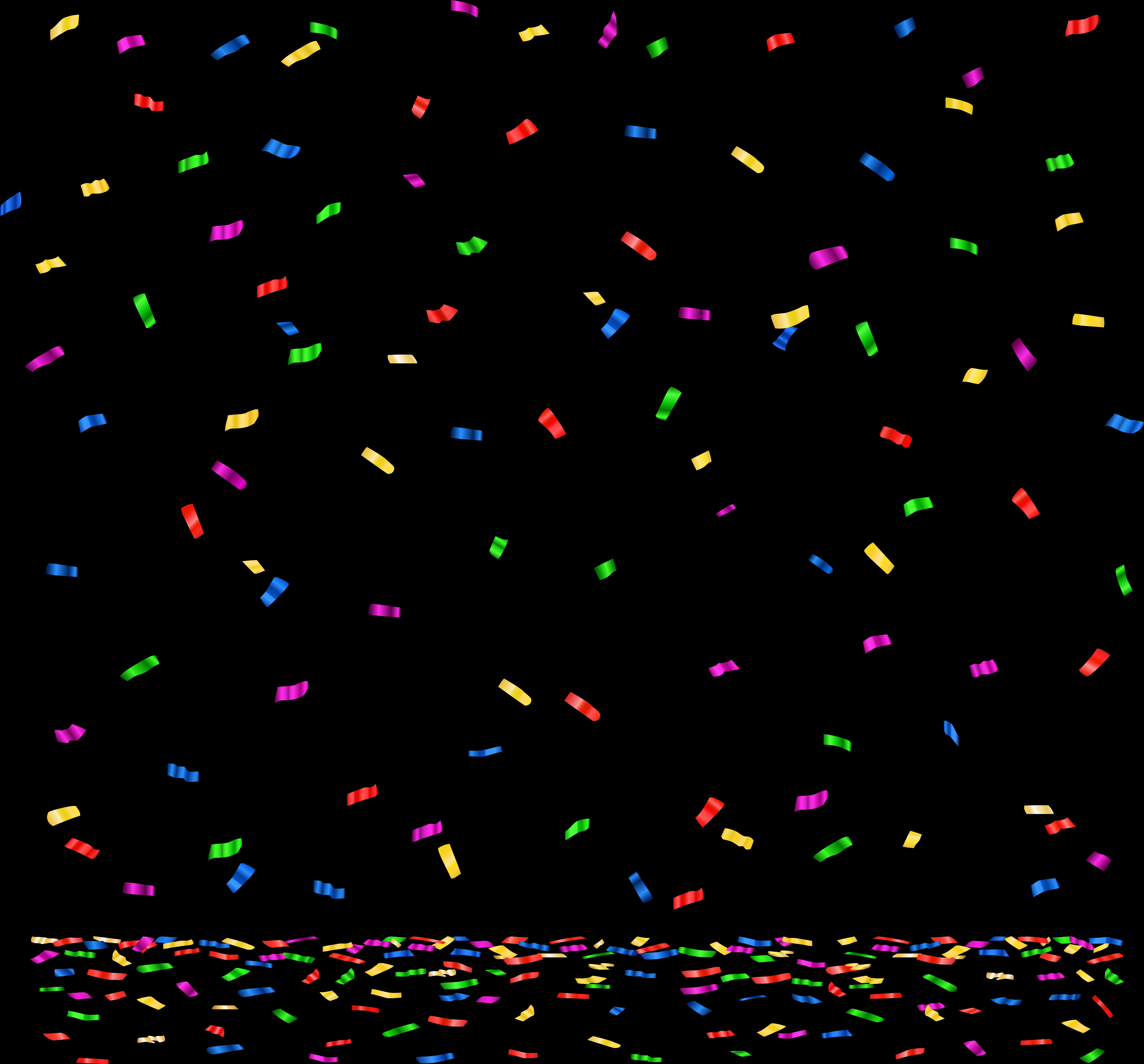 Конфетти картинки для детей, днем рождения
