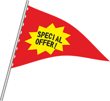 Pennant New Note Offer Advertising Trade S - Special Offer (371x340)