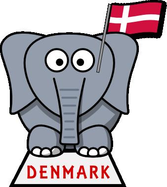 You Don't Find Many Grey Elephants In Denmark Do You - Grey Elephant From Denmark Trick (338x378)