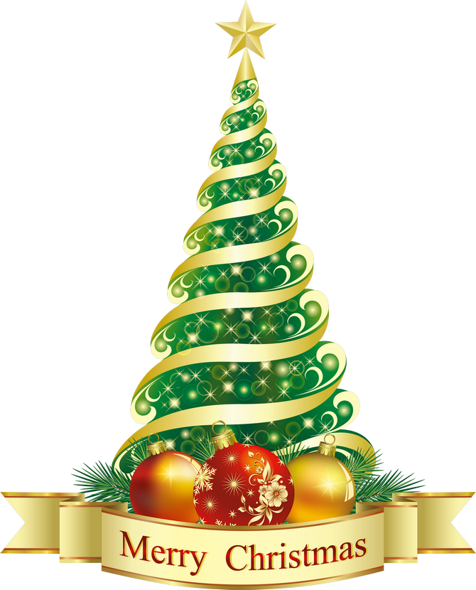 Merry Christmas Images Clip Art.Free Christmas Tree Clip Art For All Your Projects