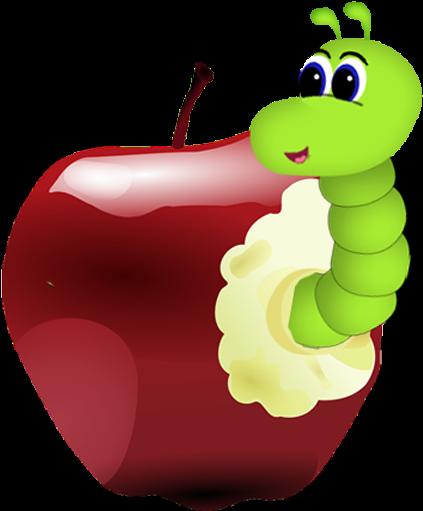 Яблоко с червяками картинки