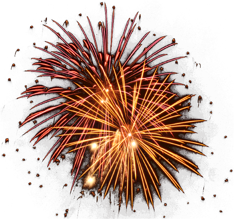 Tnt Fireworks Clipart - Fireworks Png 24 Transparency (750x702)