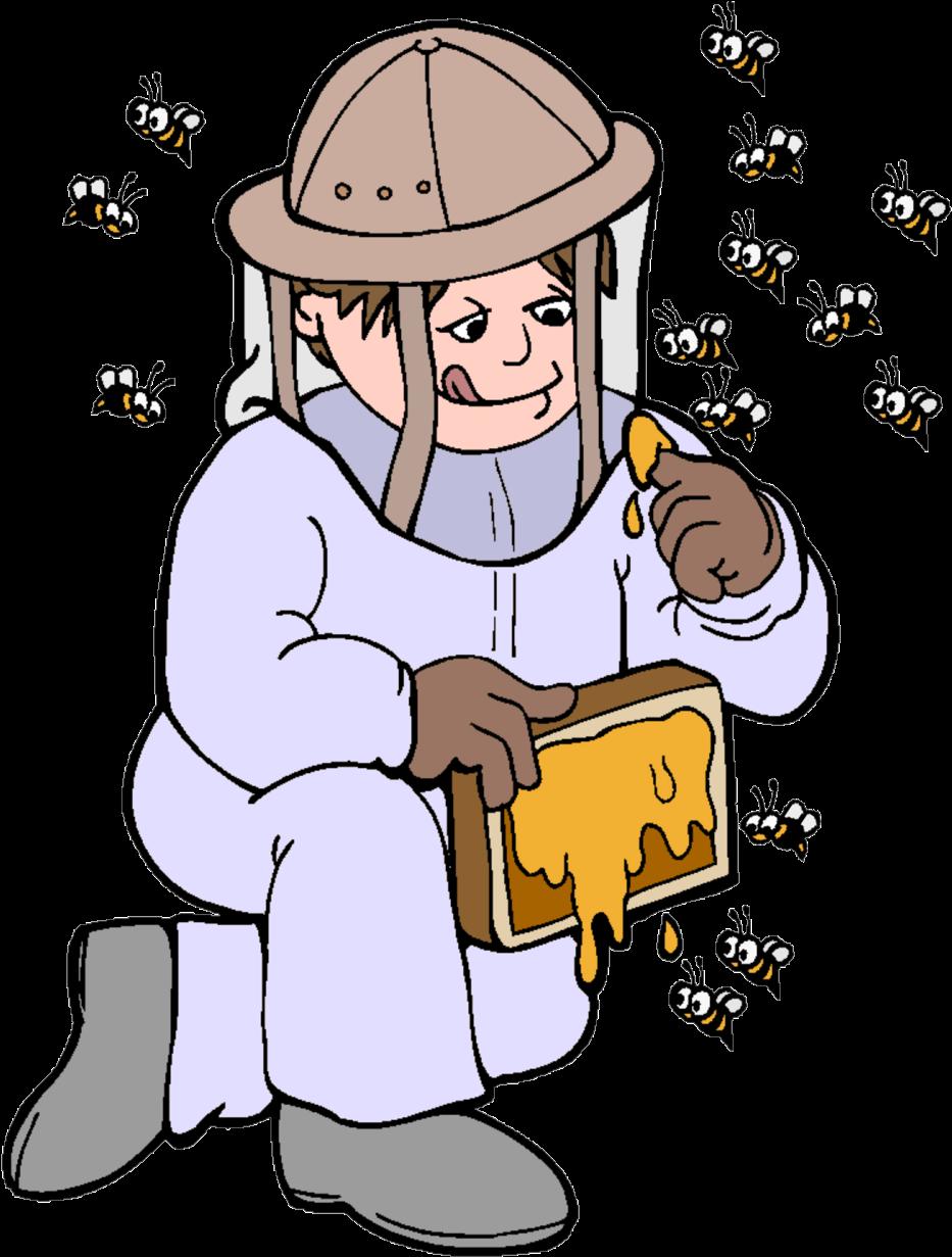 представляют работа пчеловода рисунок меня садовых цветниках