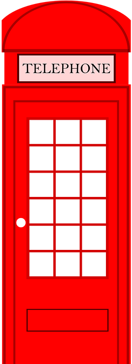 Phone Box, Telephone Booth, Telephone Box, Call Booth - London