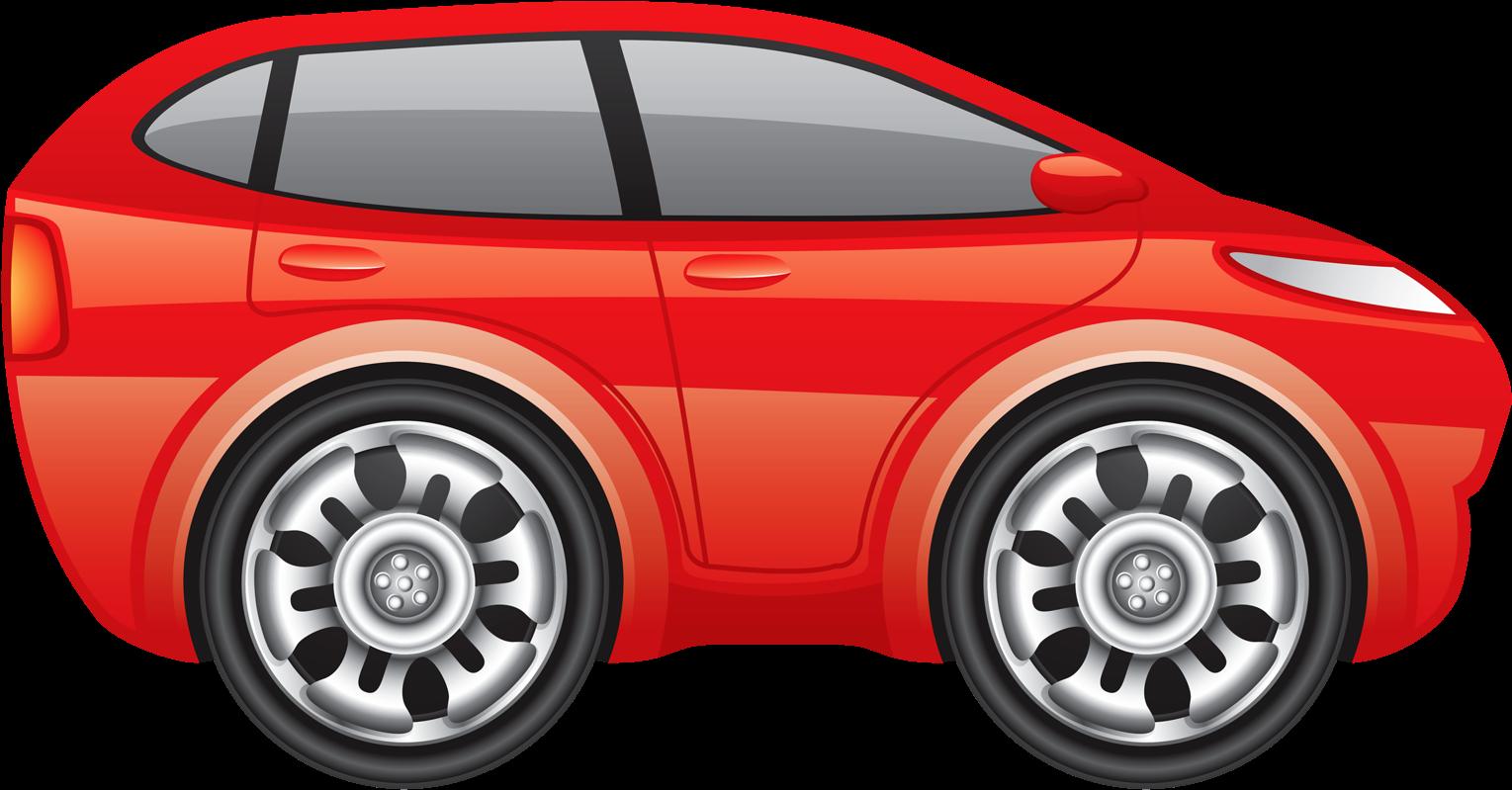 Картинки для детей красная машина