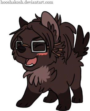 Cool Attack On Titan Wallpaper Levi Chibi Wolf Hanji Cute Chibi Wolf Gif 361x361 Png Clipart Download