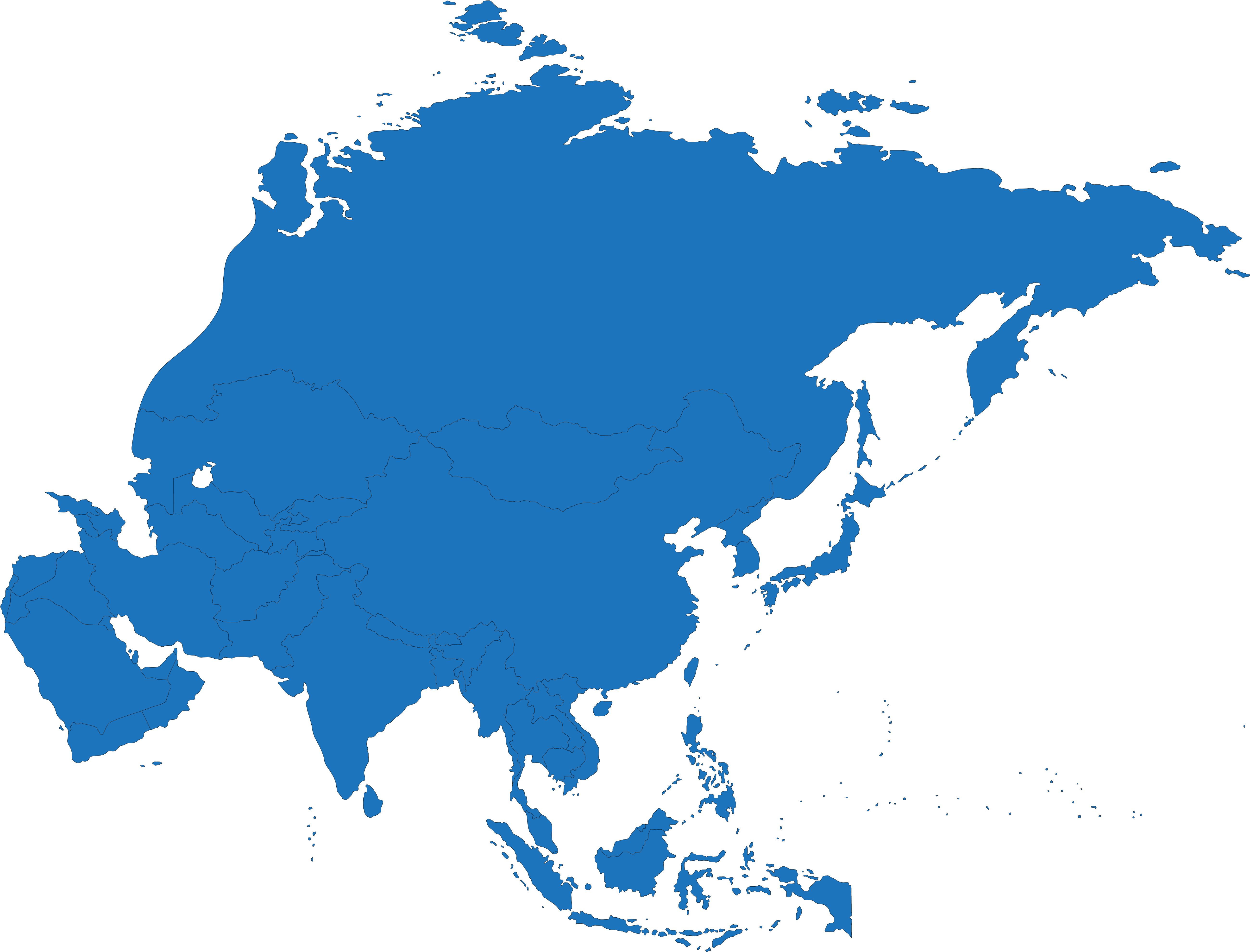 Map Of Asia And Pacific.Map Of Asia Pacific