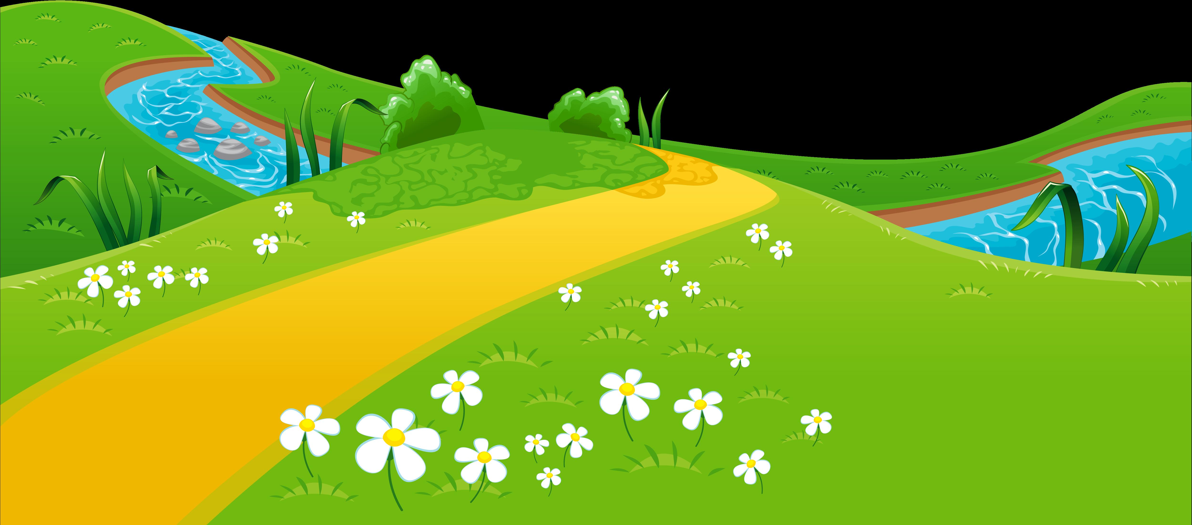 Картинки для детей полянка на прозрачном фоне