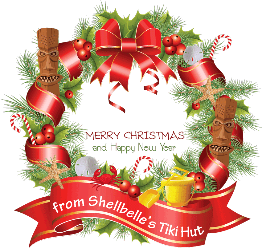 A Very Florida Christmas - Merry Christmas And Happy New Year 2015 Clip Art (850x807)