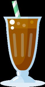 As A Milkshake - Milk Shake Cartoon Png (398x397)