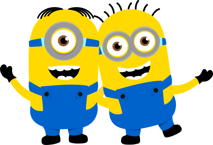 graphic relating to Printable Minion Invitations titled Despicable Me And The Minions Clip Artwork - Totally free Printable