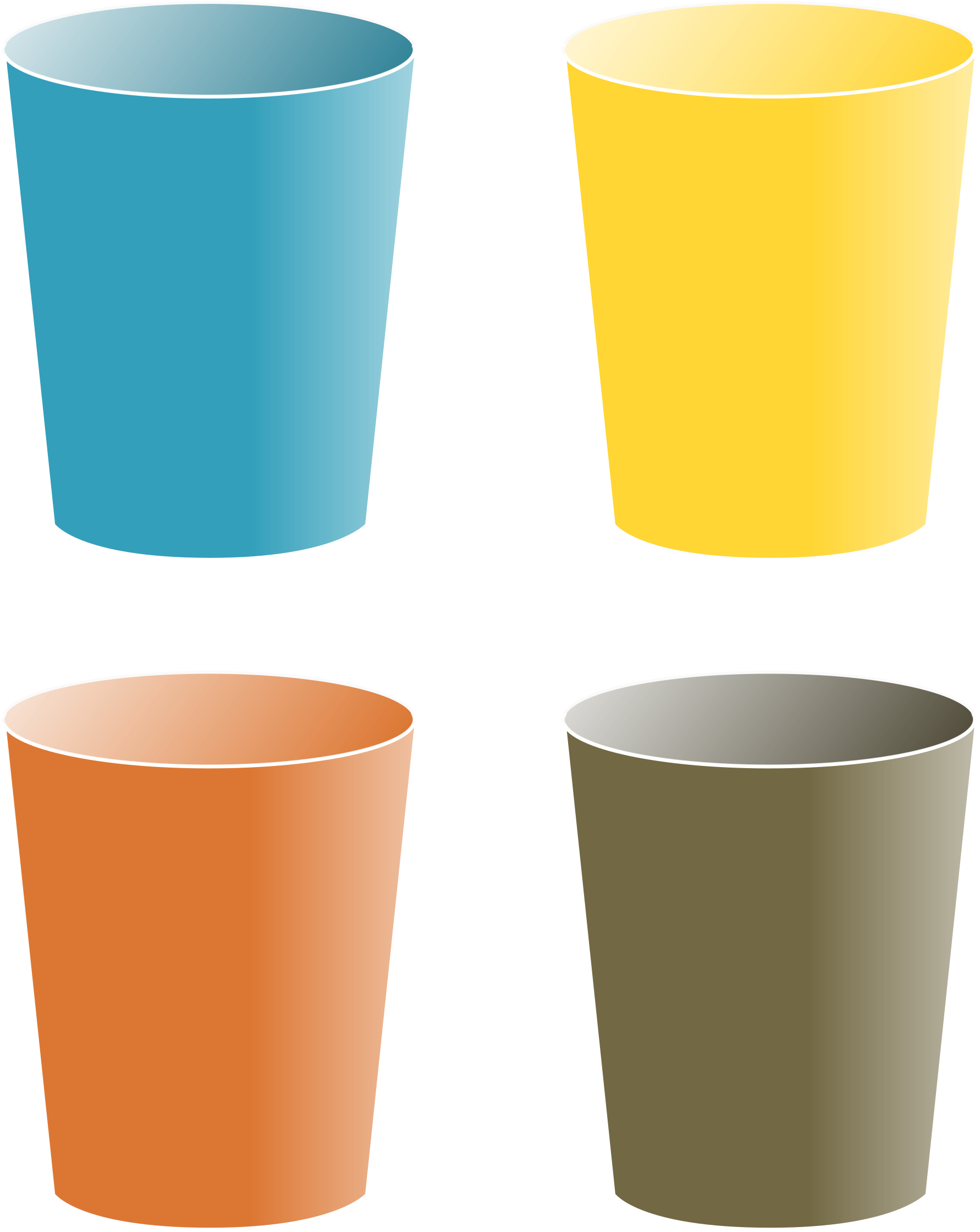 Cups Clipart - Cups Clipart (1909x2400)
