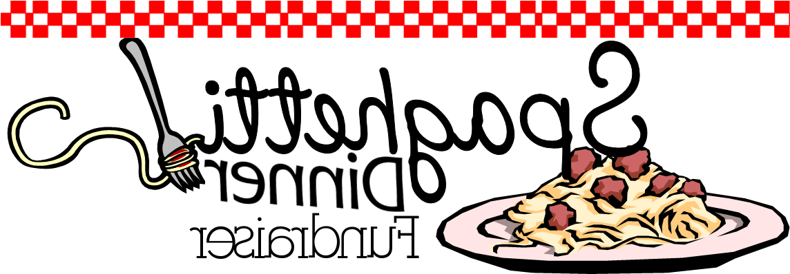Spaghetti Dinner Fundraiser Clipart - Spaghetti Dinner Fundraiser Clipart (1143x463)