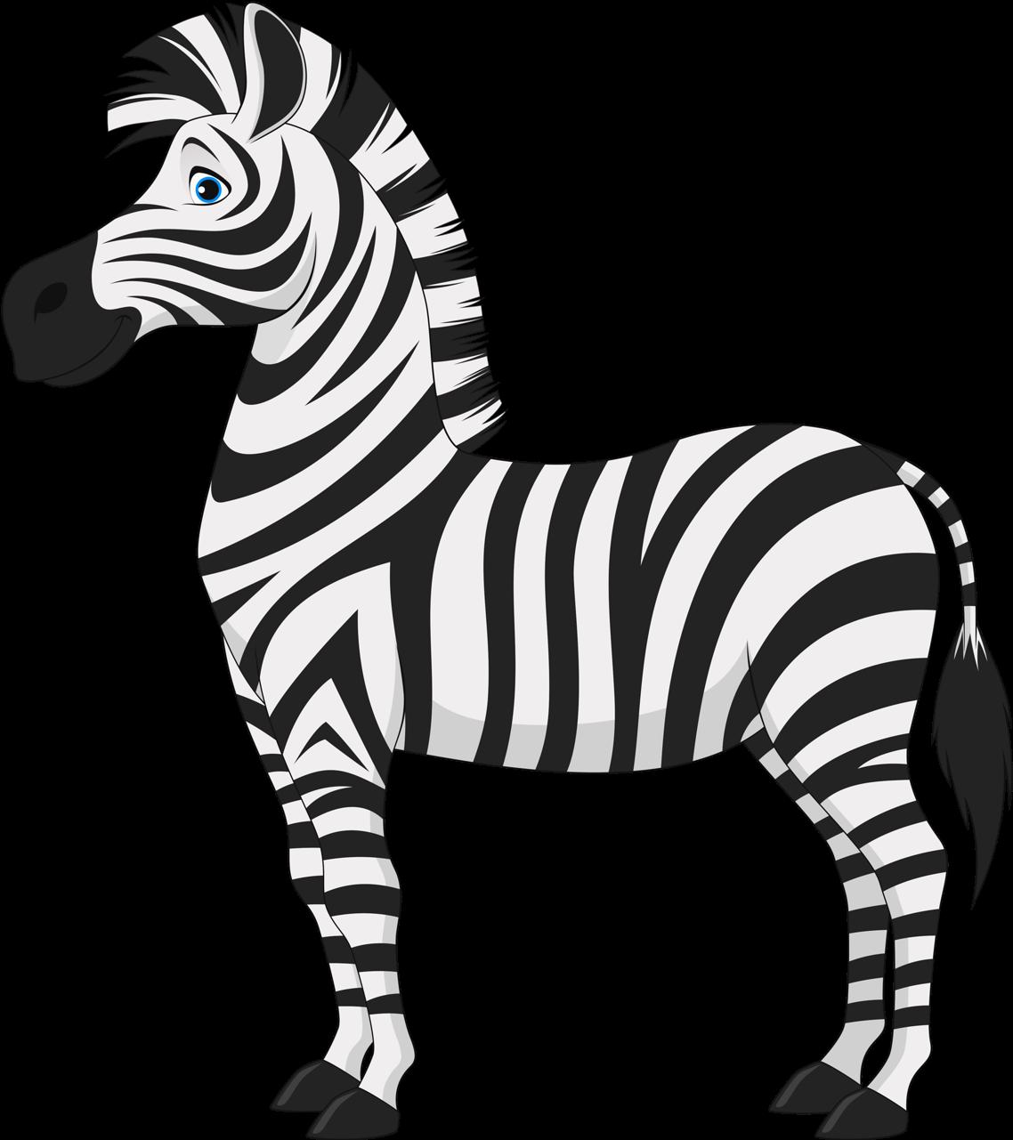 Картинка зебра для детей