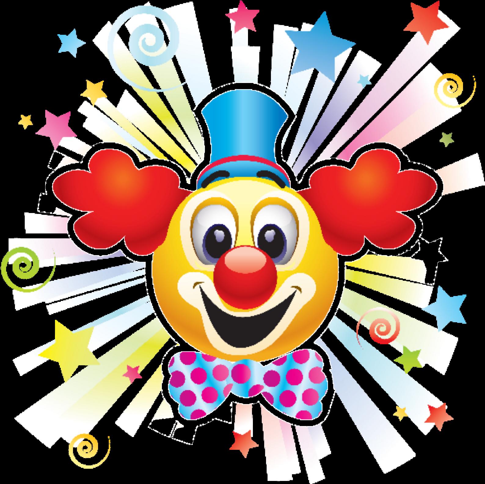 Открытки с клоуном, субботнике детском