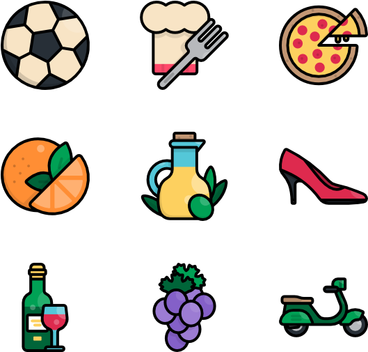 Italy - Sport Equipment Clipart Png (600x564)