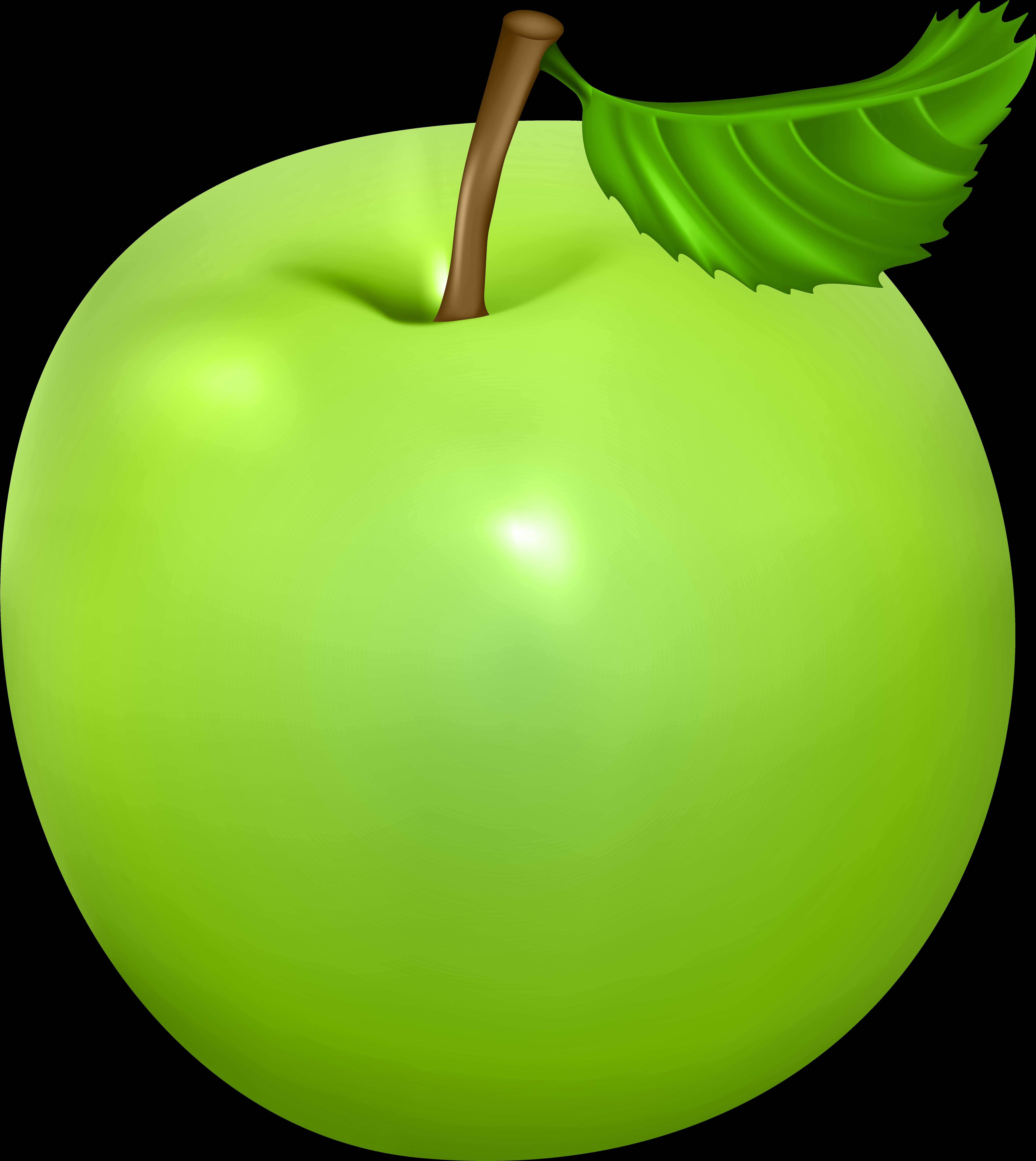 Зеленое яблоко картинка для детского сада