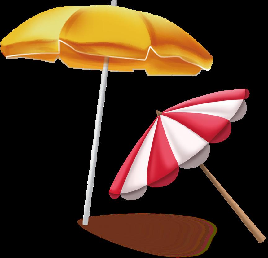 Картинка пляжный зонтик, православные добрым утром