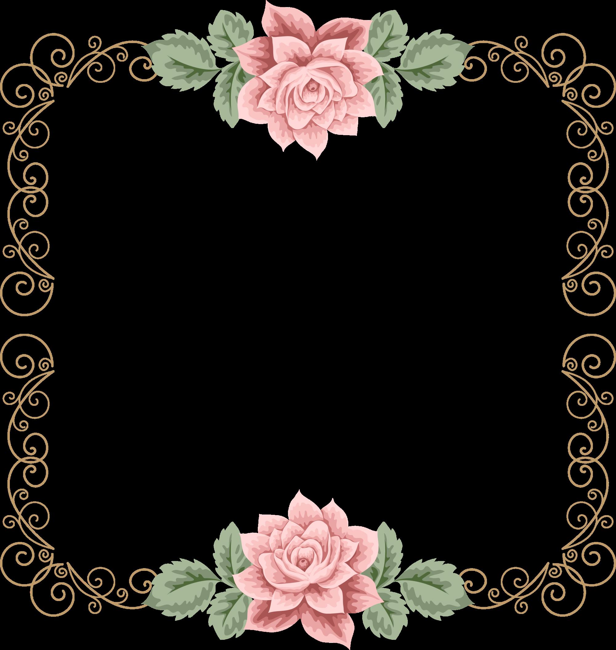 Wedding Invitation Flower Clip Art   Wedding Invitation ...