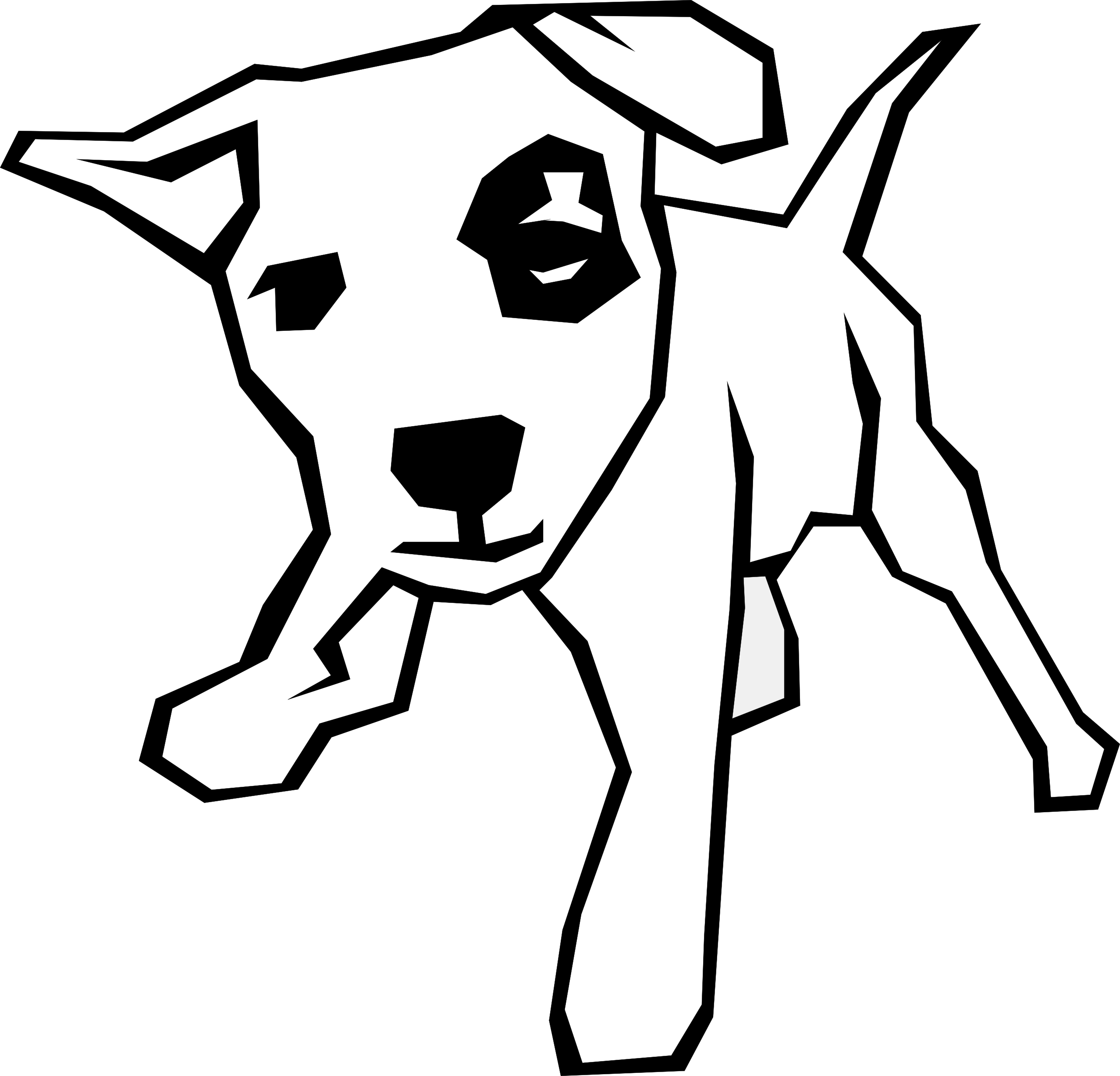 Free Clipart Animal Line Drawings Download Clip Art - Dog Clip Art (2555x2452)