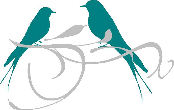 Gallery Love Birds Silhouette Clip Art, - Clip Art Love Birds (600x380)
