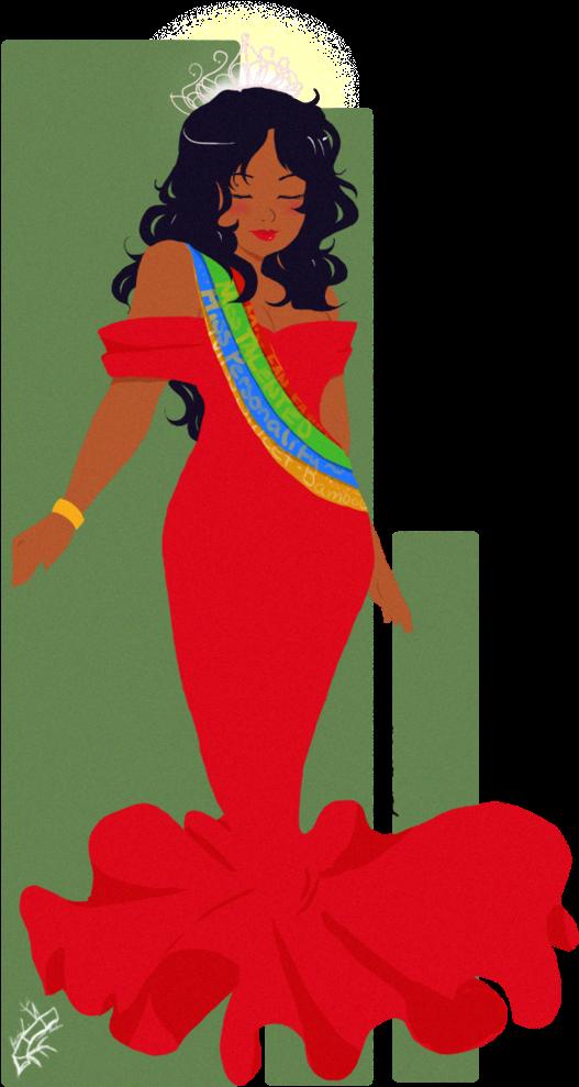 Beauty - Beauty Queen Clip Art (786x1017)