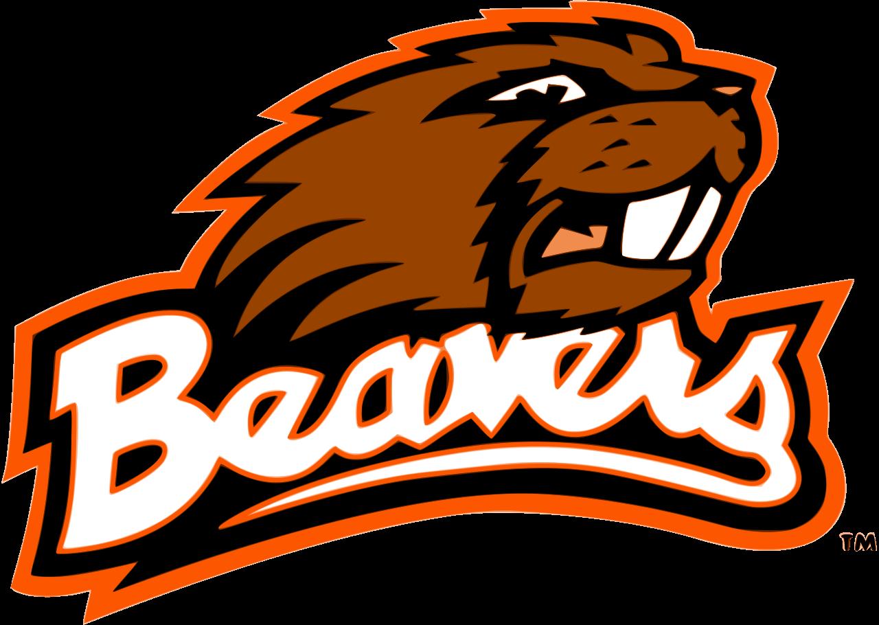 Beaver Cliparts - Oregon State University Mascot (1280x910)