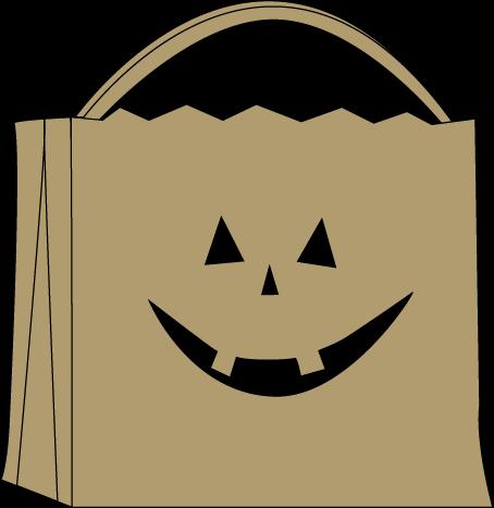 Trick Or Treat Bag - Trick Or Treat Bag Clipart (454x467)