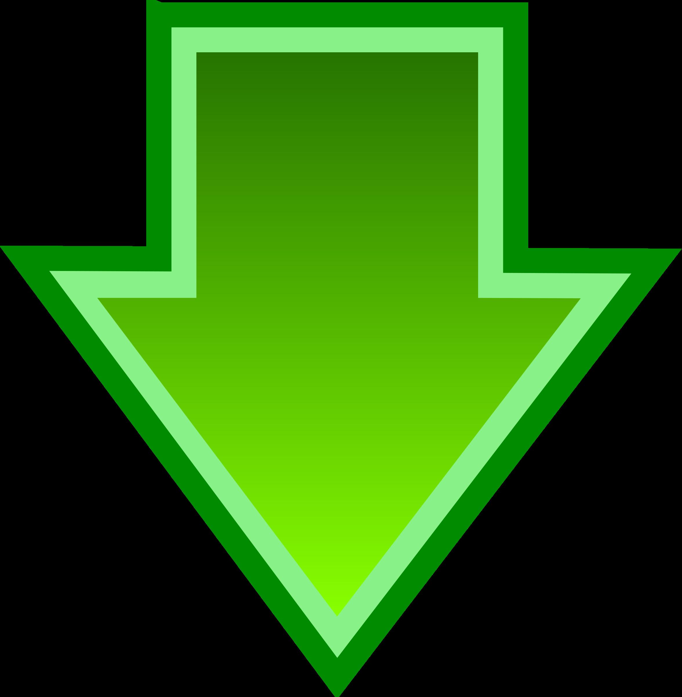 Картинки зеленые стрелочки