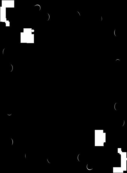 Rose Vine Border Clip Art Vine Border Modifed Hi - Music Of The Incredible String Band (444x597)