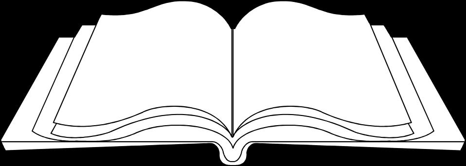 Книга контур картинки