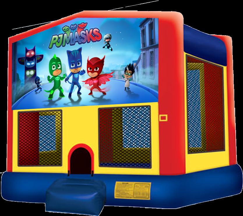 Bounce House Water Slide Party Rental Phoenix - Pj Masks Bounce House (864x792)