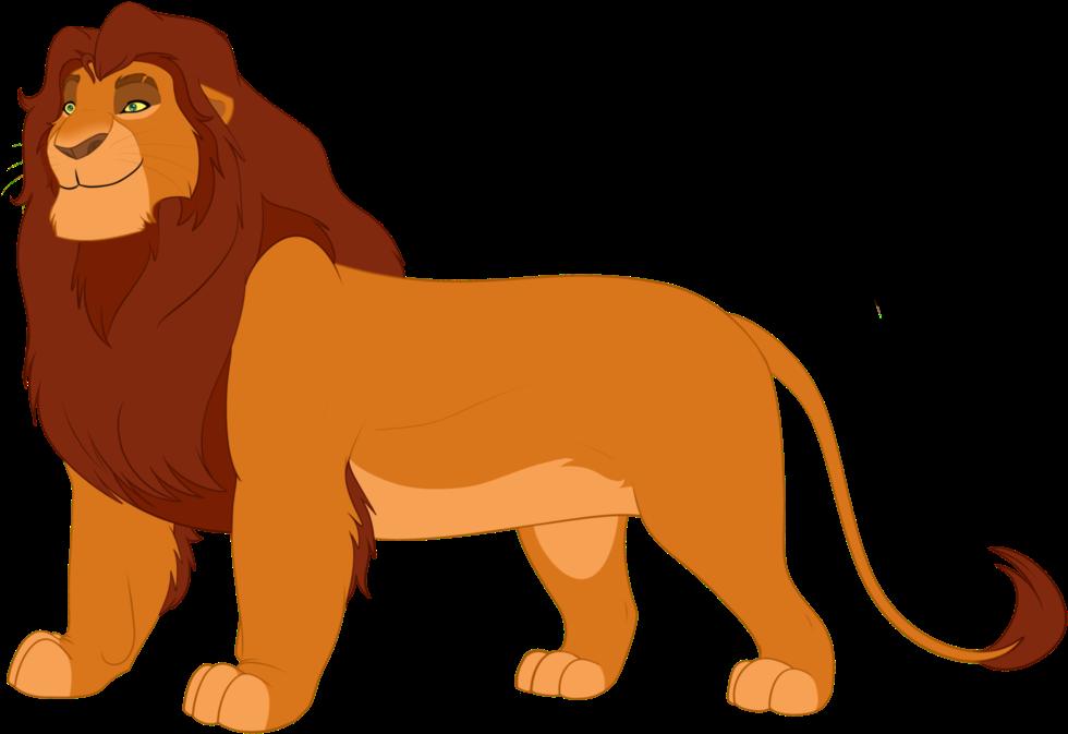 Картинки король лев на белом фоне в хорошем качестве