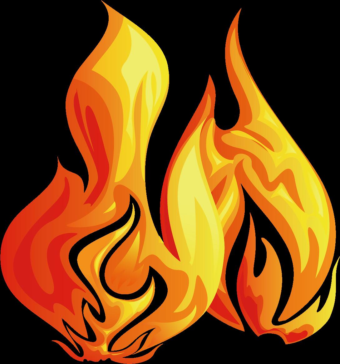 Картинки огня на рисованного