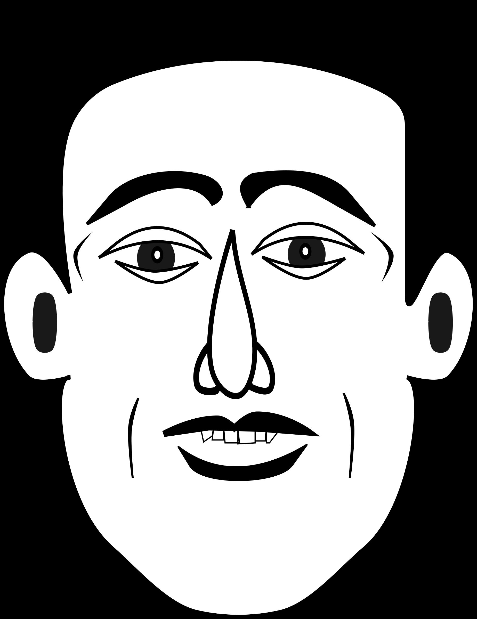 Мужчина лицо смешное рисунок