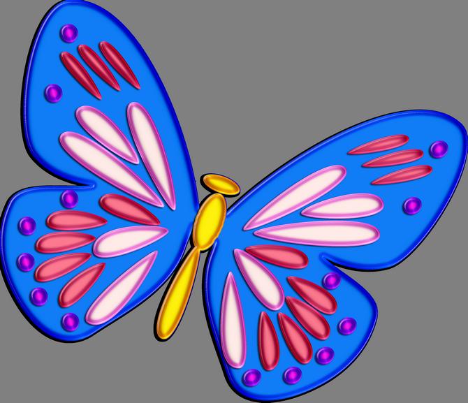Картинка бабочка для детей анимация