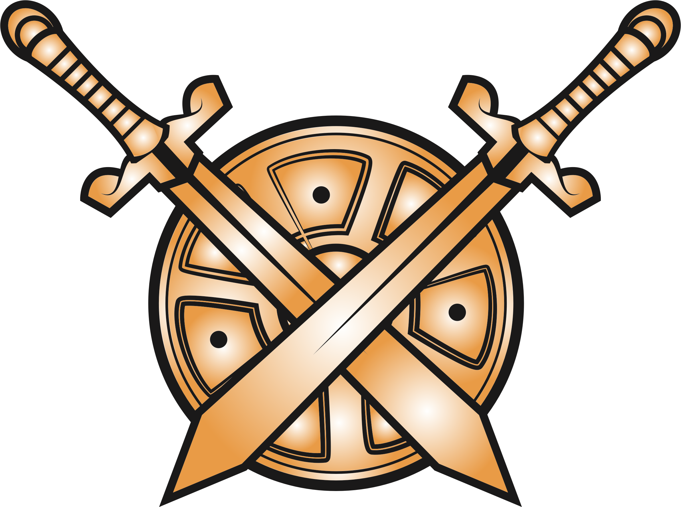trojan sword clipart - HD 2387×1778