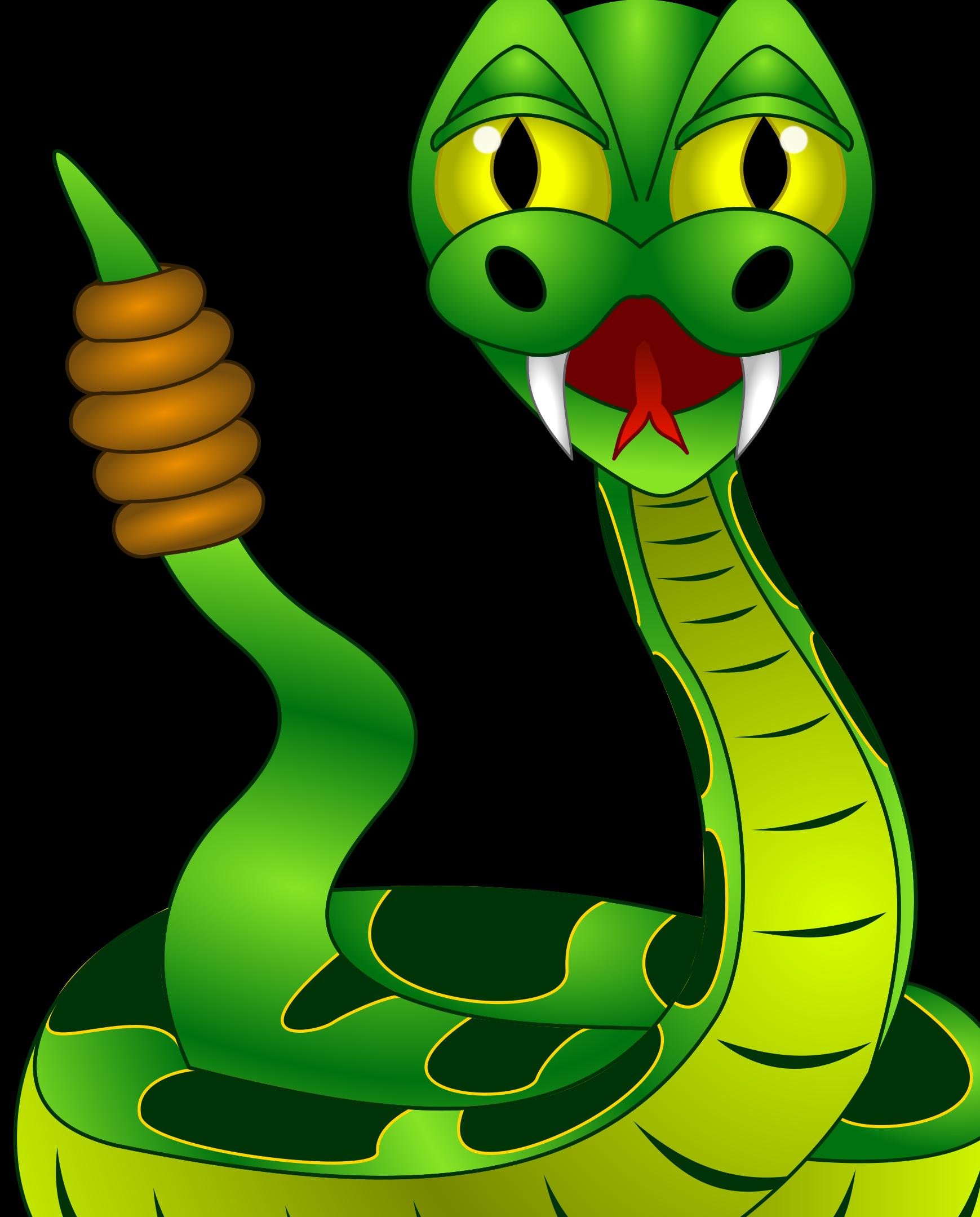 Змейка в картинках, открытки