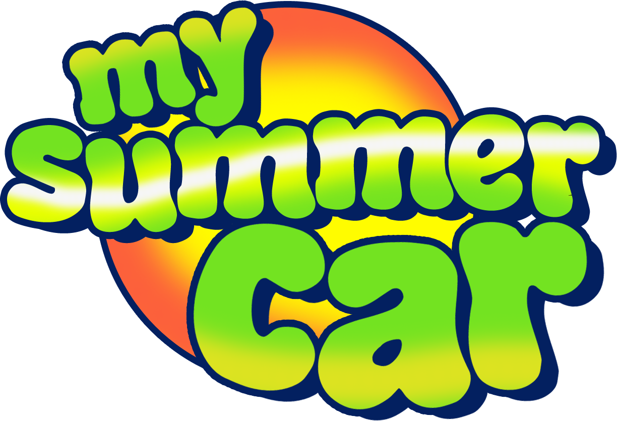 My Summer Car Logo - My Summer Car Logo (1224x835)